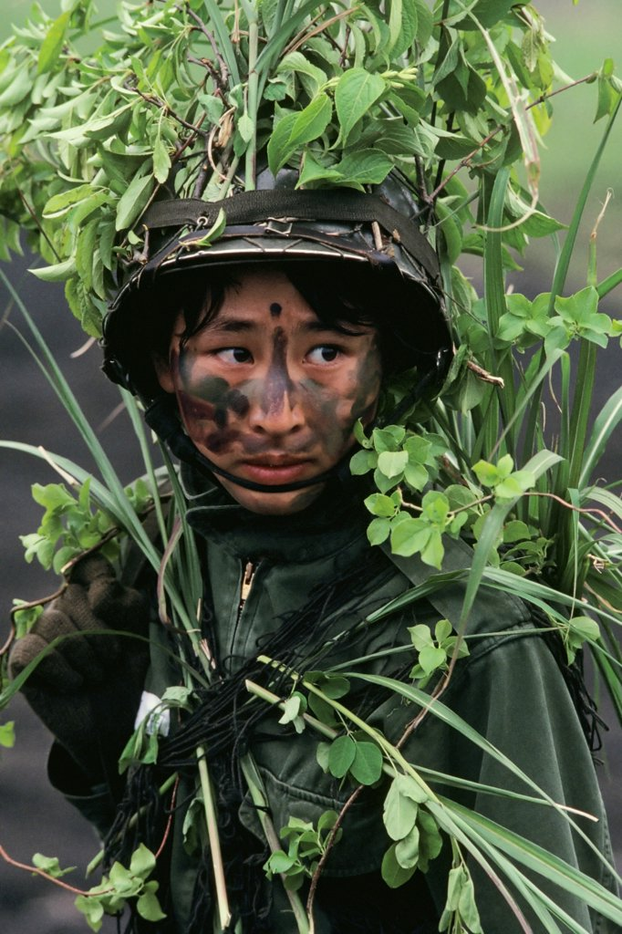 Stock Photo: 4339-329 Japanese Women Soldiers