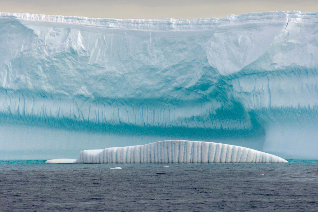 Stock Photo: 4340-295 Iceberg and Glacier