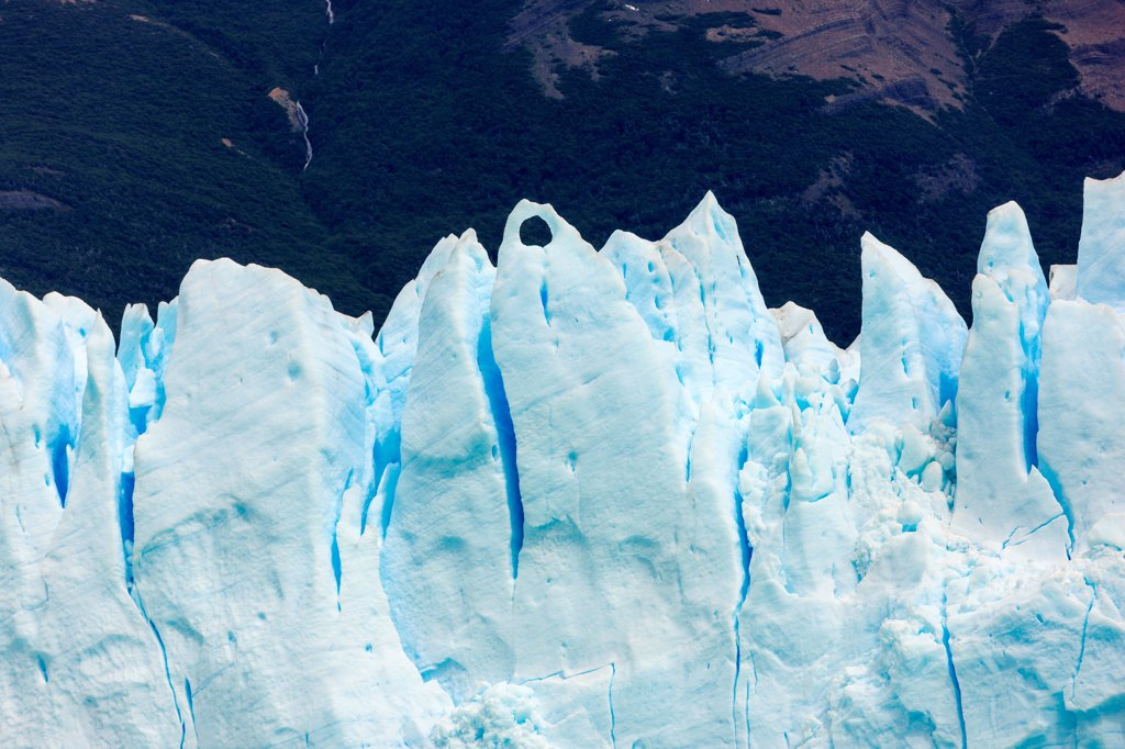 Stock Photo: 4355-2245 The Perito Moreno Glacier in Patagonia.