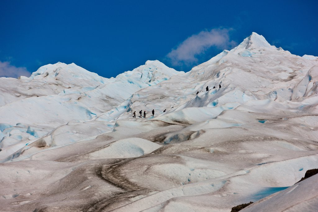 The Perito Moreno Glacier in Patagonia. : Stock Photo