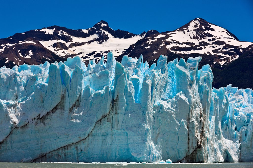 Stock Photo: 4355-2252 The Perito Moreno Glacier in Patagonia.