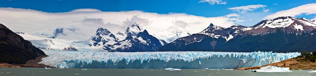 Stock Photo: 4355-2253 The Perito Moreno Glacier in Patagonia.