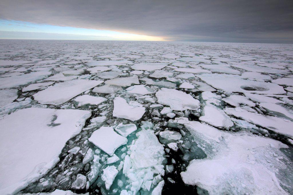 Greenland, Arctic landscape : Stock Photo