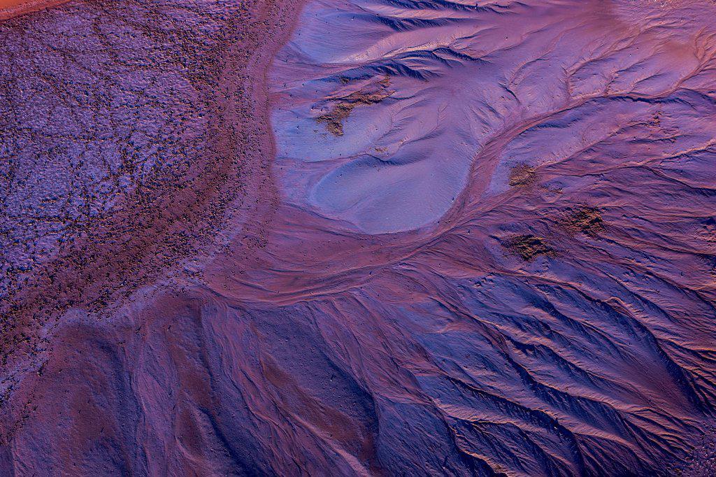 Stock Photo: 4355-2436 Namibia, Namib-Naukluft National Park, Aerial view of Soussusvlei