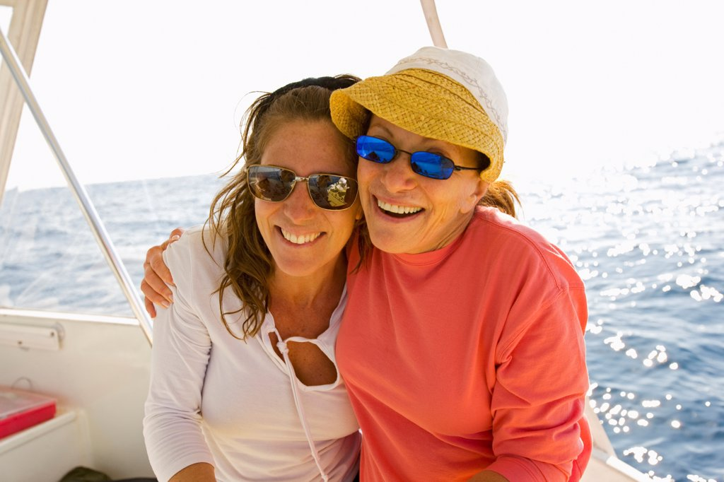 Stock Photo: 4355-392 Mother and Daughter