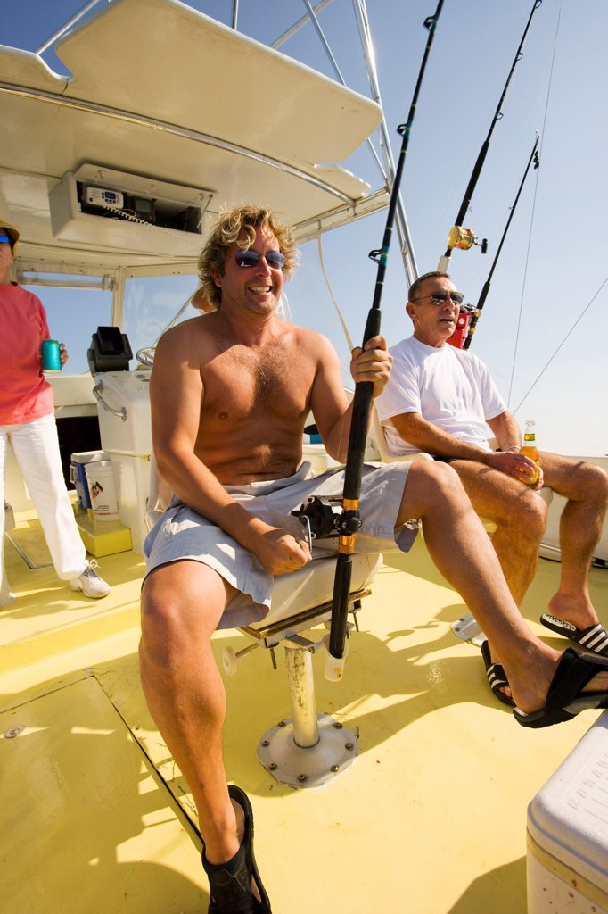 Stock Photo: 4355-393 Deep Sea Fishing