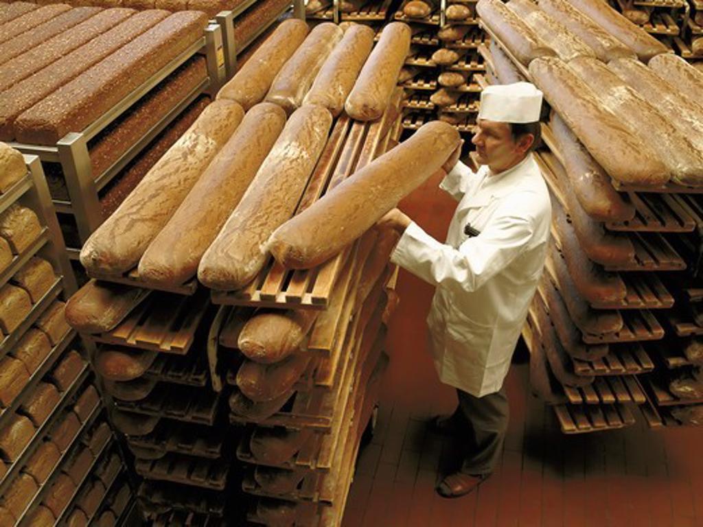 Stock Photo: 4359-128 Bread Factory