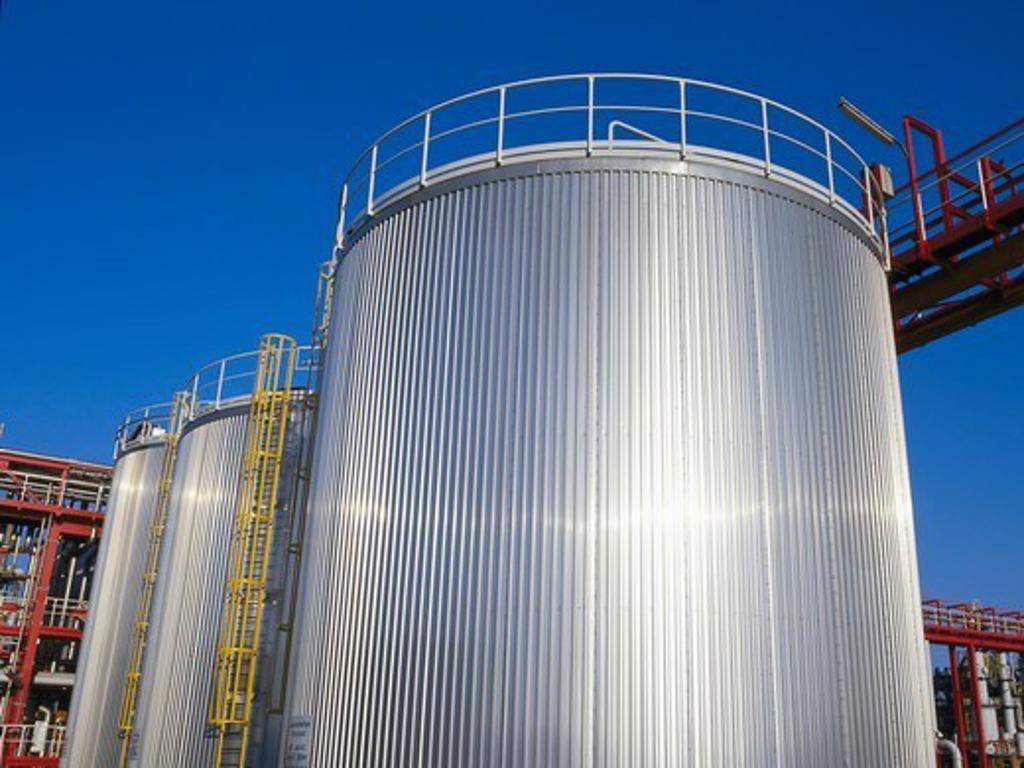 Stock Photo: 4359-178 Storage Tanks