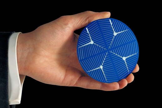Stock Photo: 4359-256 Solar Cell