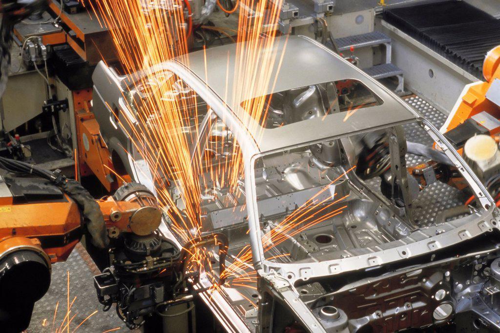 Stock Photo: 4359-314 Car Production