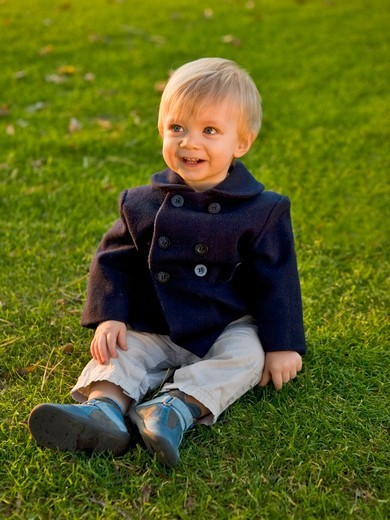One-Year-Old Boy : Stock Photo