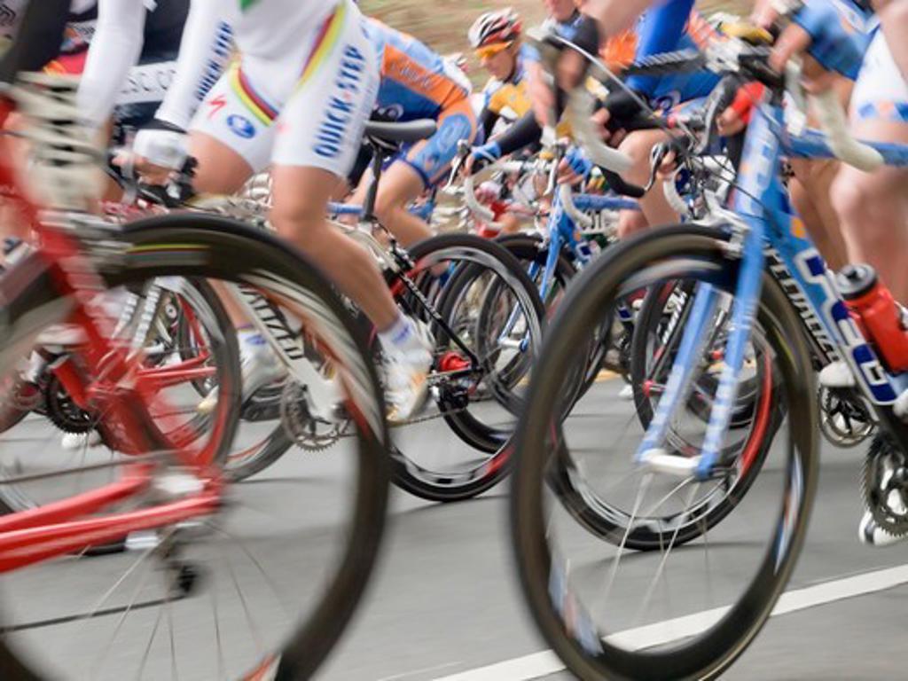 Tour de California Bike Race 2008 : Stock Photo