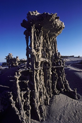 Stock Photo: 4369-750 Sand tufas, Mono Lake, California, USA.