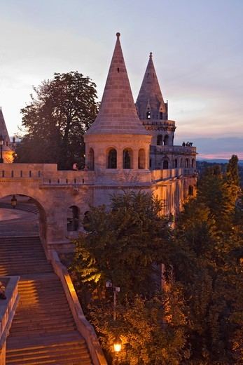 Fisherman's Bastion : Stock Photo