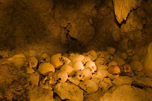 Stock Photo: 4372-225 Tawali Skull Cave
