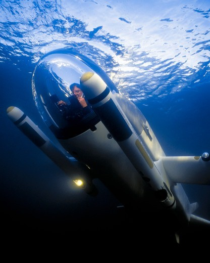 Stock Photo: 4373-1232 Deep Flight Submersible