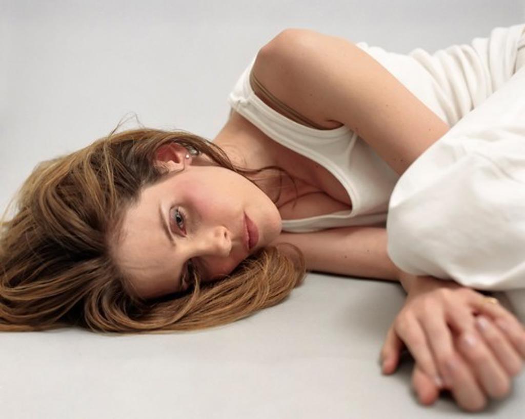 Stock Photo: 4374-103 Depressed Woman