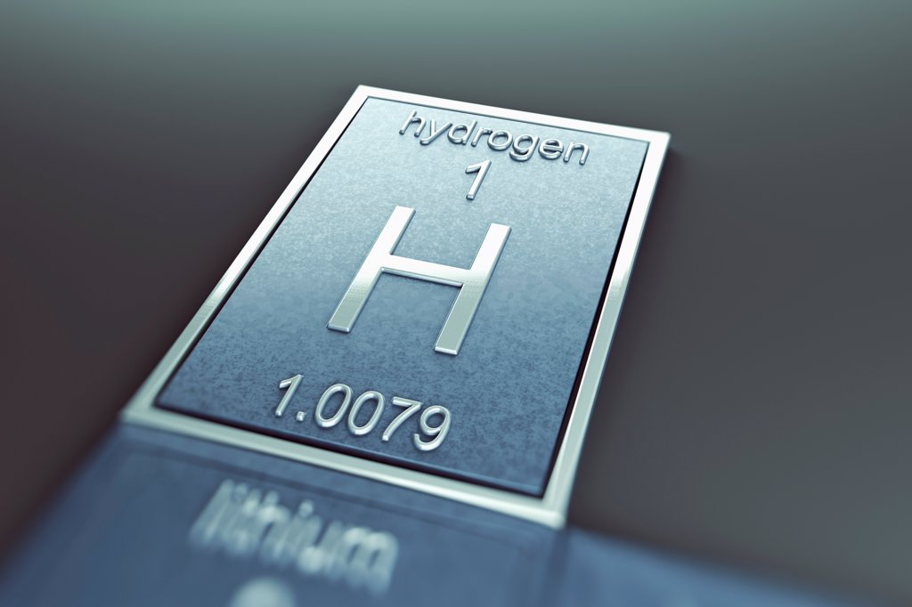 Stock Photo: 4378-4848 Hydrogen (Chemical Element)