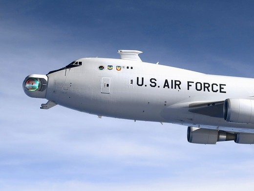 Stock Photo: 4387-120 YAL-1A Airborne Laser Aircraft