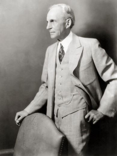 Stock Photo: 4388-140 Auto Manufacturer Henry Ford