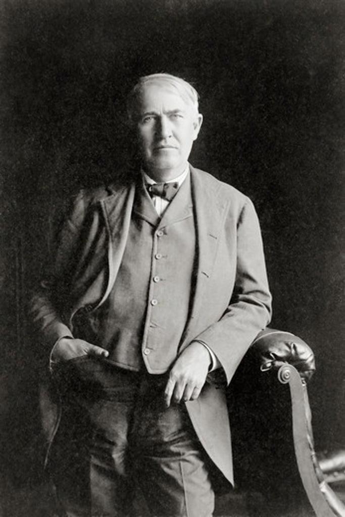 Stock Photo: 4388-201 Inventor Thomas Alva Edison