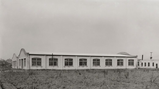 Stock Photo: 4388-238 Exterior of Wright Brothers Company Factory