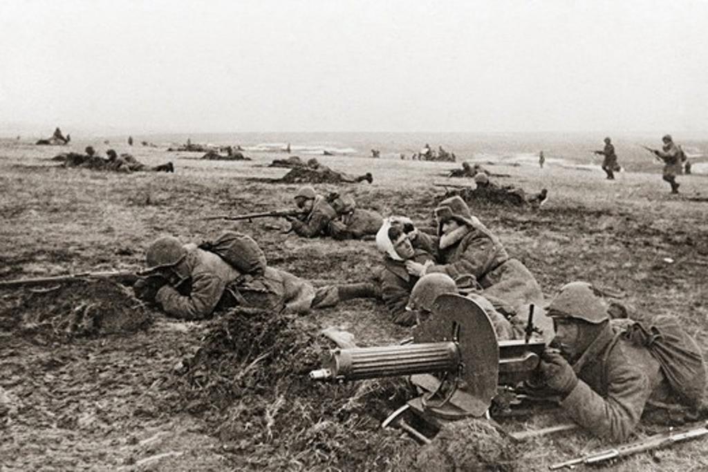Stock Photo: 4388-880 Soviet Soldiers