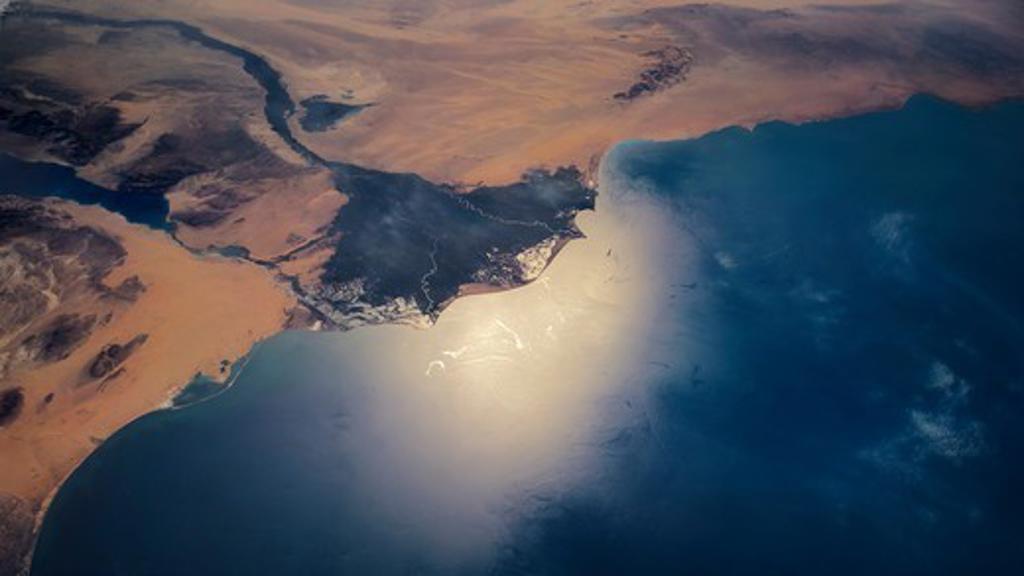 Nile Delta : Stock Photo