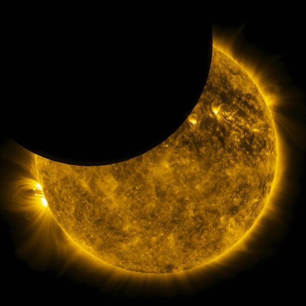 Stock Photo: 4389-2227 Sun and Moon