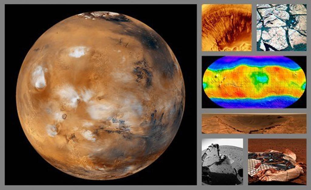 Stock Photo: 4389-2463 Mars