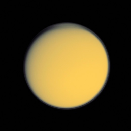 Stock Photo: 4389-586 Haze of Titan