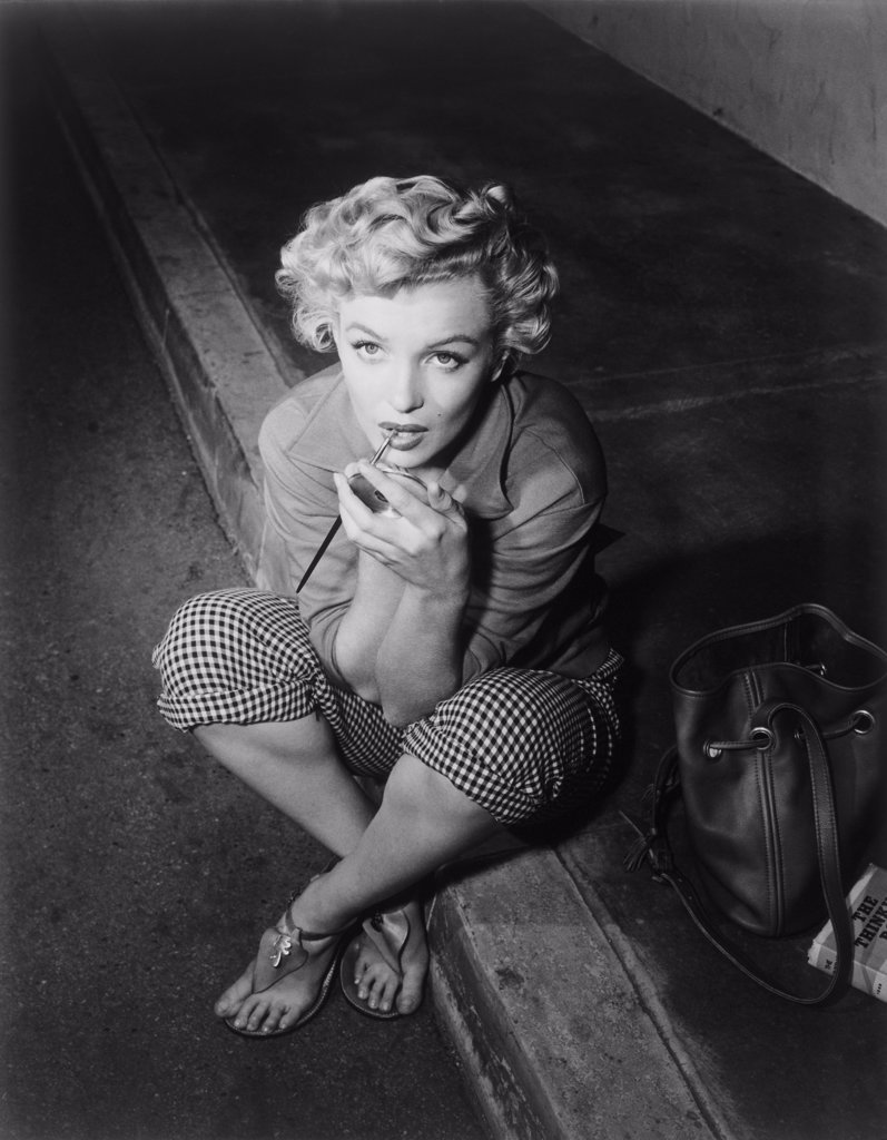 Stock Photo: 440-1803 Marilyn Monroe 1952