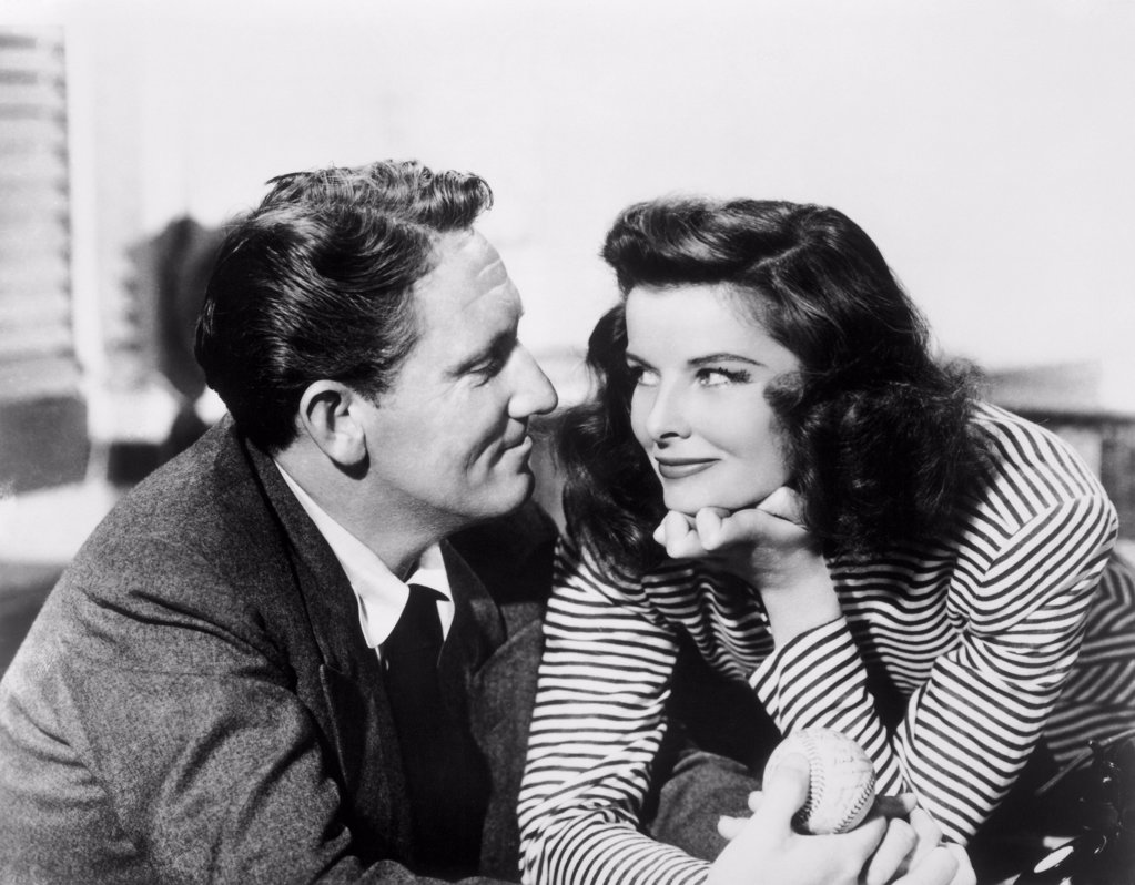 Katharine Hepburn  Spencer Tracy  1942 : Stock Photo
