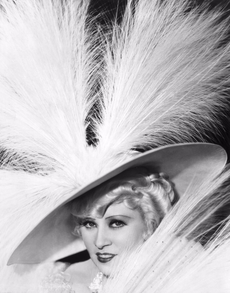Stock Photo: 440-4017 Mae West 