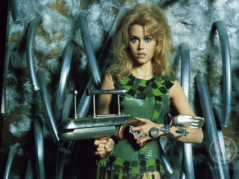Stock Photo: 440-4350 Jane Fonda 
