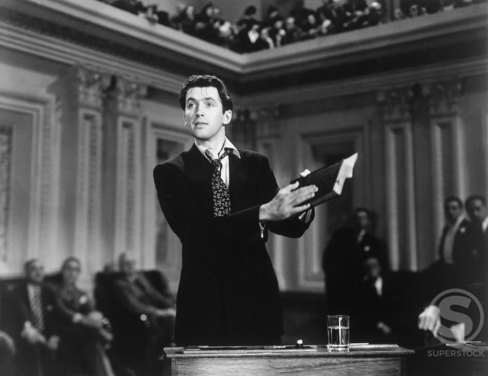 James Stewart  Mr. Smith Goes to Washington  1939       : Stock Photo