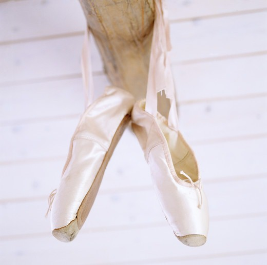 Ballet slippers. : Stock Photo