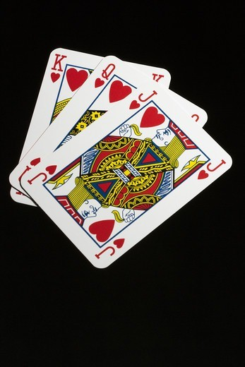 Playing cards, close-up. : Stock Photo