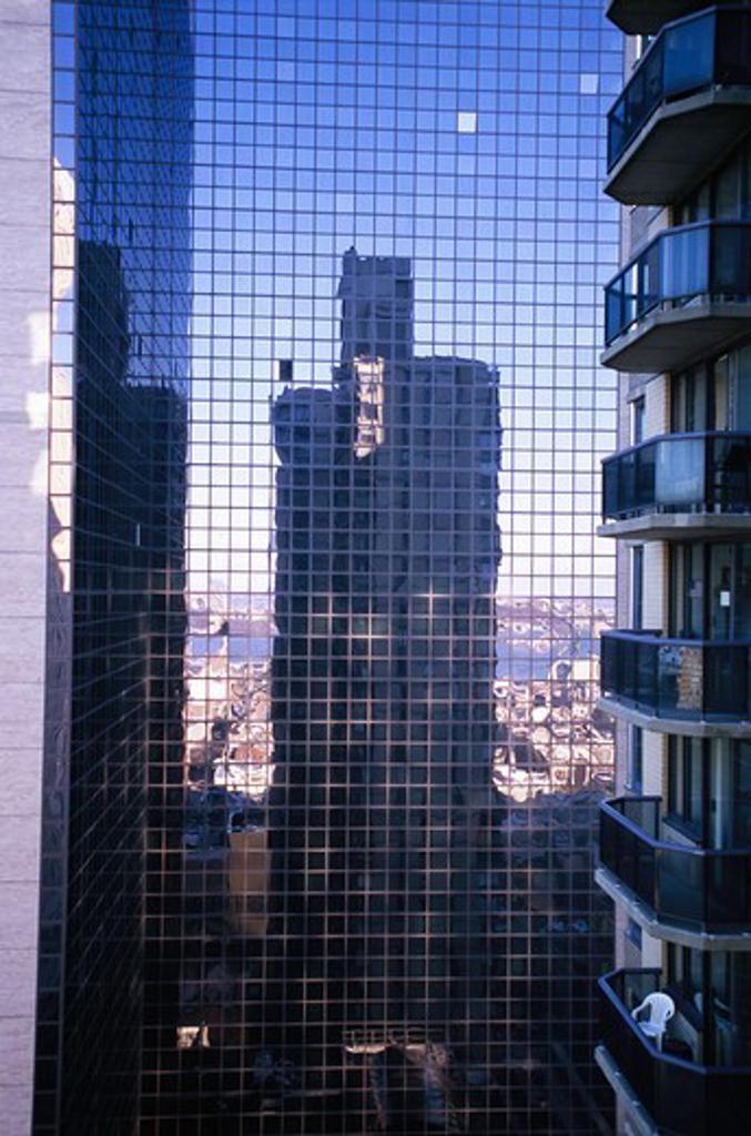 Stock Photo: 4400R-5528 Skyscraper, New York, USA.
