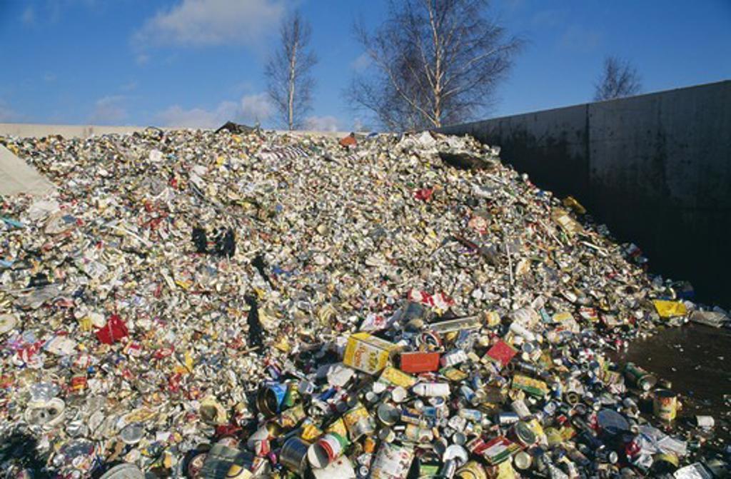 Stock Photo: 4401R-1876 Garbage dump