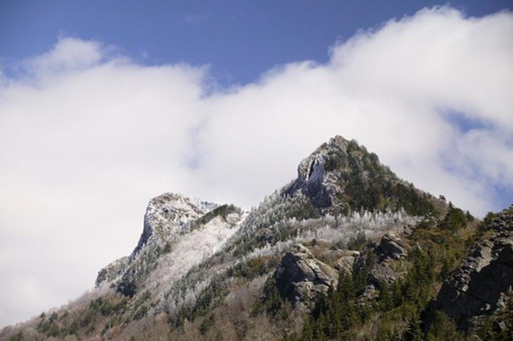 Grandfather Mountain Biosphere Reserve, North Carolina, USA. : Stock Photo