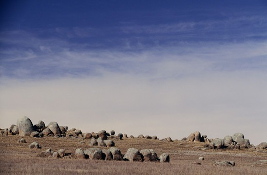 Stock Photo: 4401R-9217 View of landscape with rocks