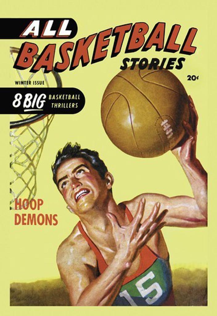 Stock Photo: 4408-11197 All Basketball Stories: Hoop Demons, Basketball