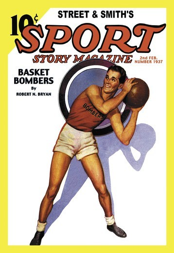 Stock Photo: 4408-11200 Sport Story Magazine: Basket Bombers, Basketball