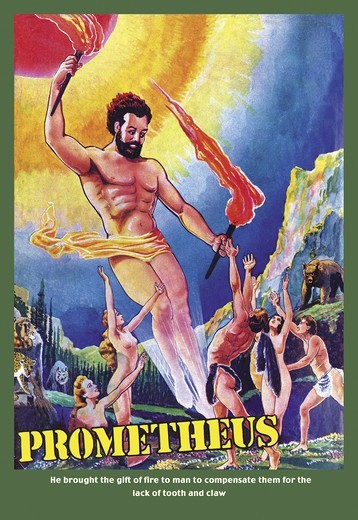 Prometheus, 1940's Visions of the Future : Stock Photo