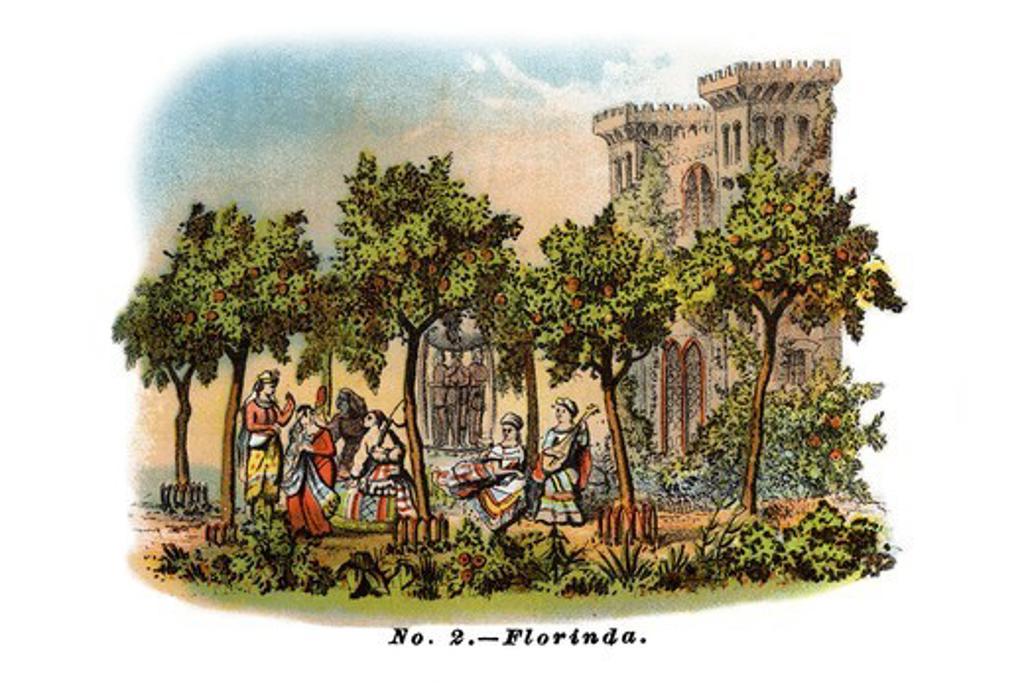 No. 2 Florinda - Mardi Gras Parade Float Design, Mardi-Gras : Stock Photo