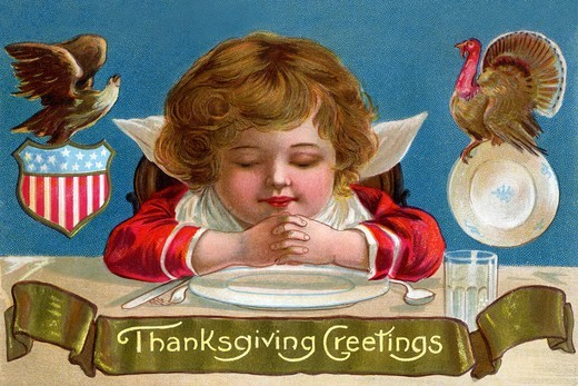 Stock Photo: 4408-13588 Thanksgiving Greetings, Thanksgiving
