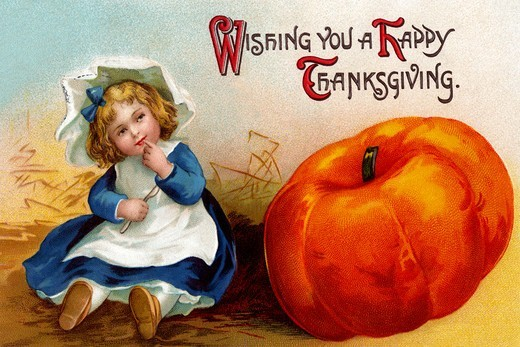 Stock Photo: 4408-13610 Wishing you a Happy Thanksgiving, Thanksgiving