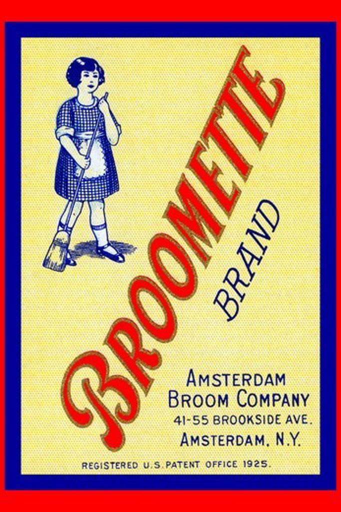 Stock Photo: 4408-13771 Broomette Brand, Advertising