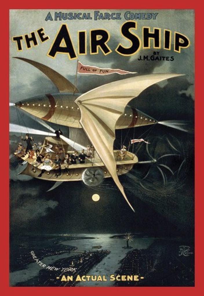 Air Ship, Aviation : Stock Photo